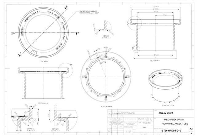 Solid Innovations CAD Drafting Portfolio