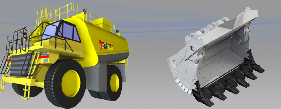 Mining plant equipment 3d cad design